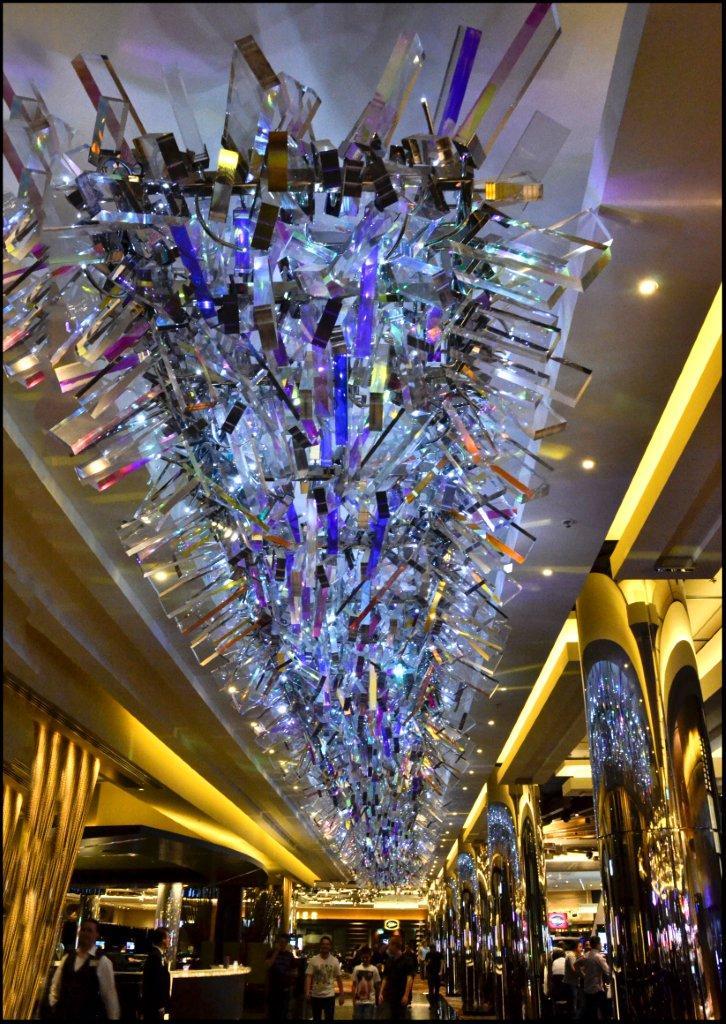 Pretty Light Fitting in Crown Casino