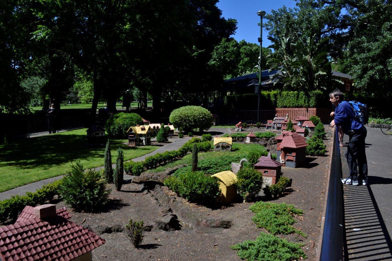 Tudor Village, Fitzroy Gardens, Melbourne