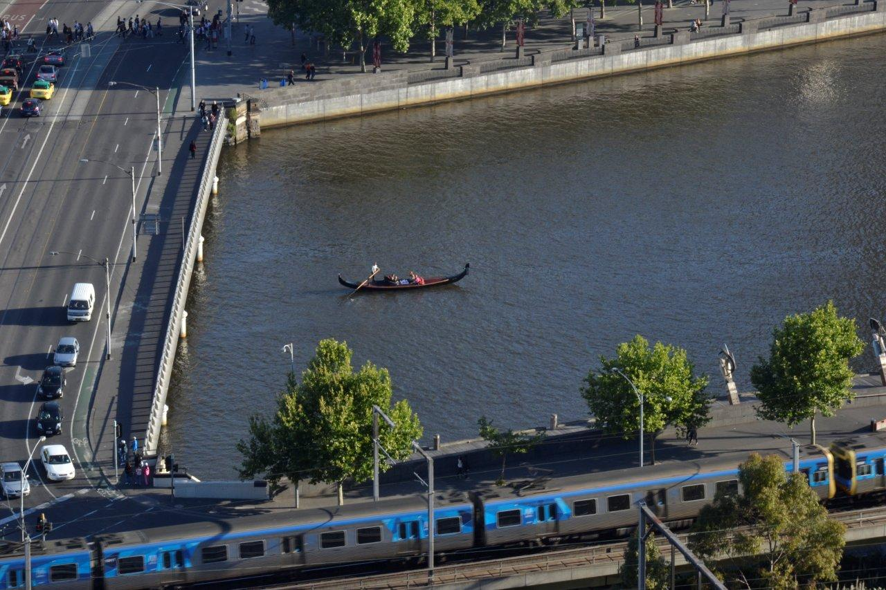 A Gondola??? on the Yarra