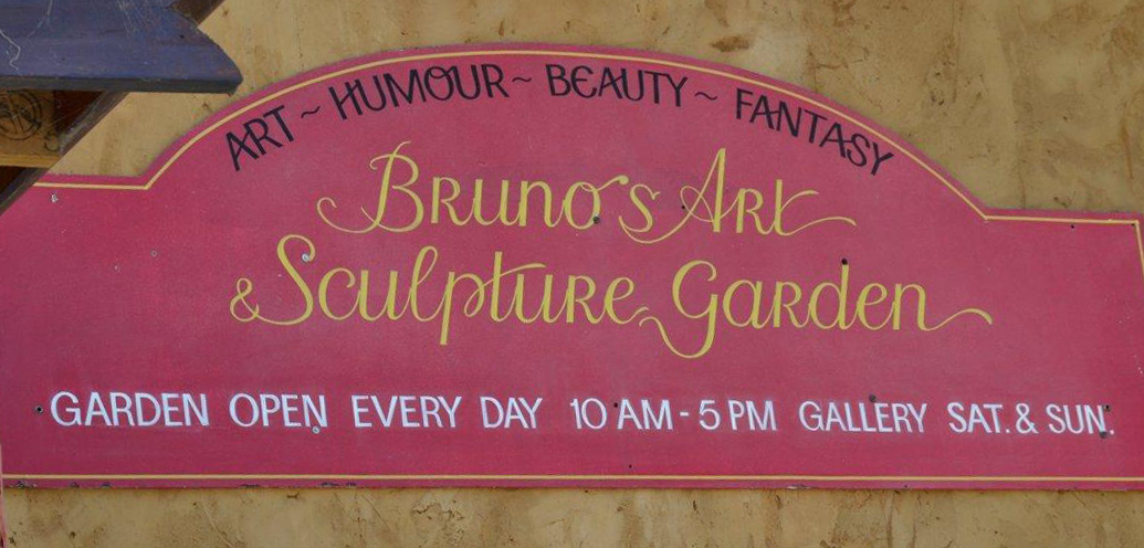Bruno's Sculpture Garden