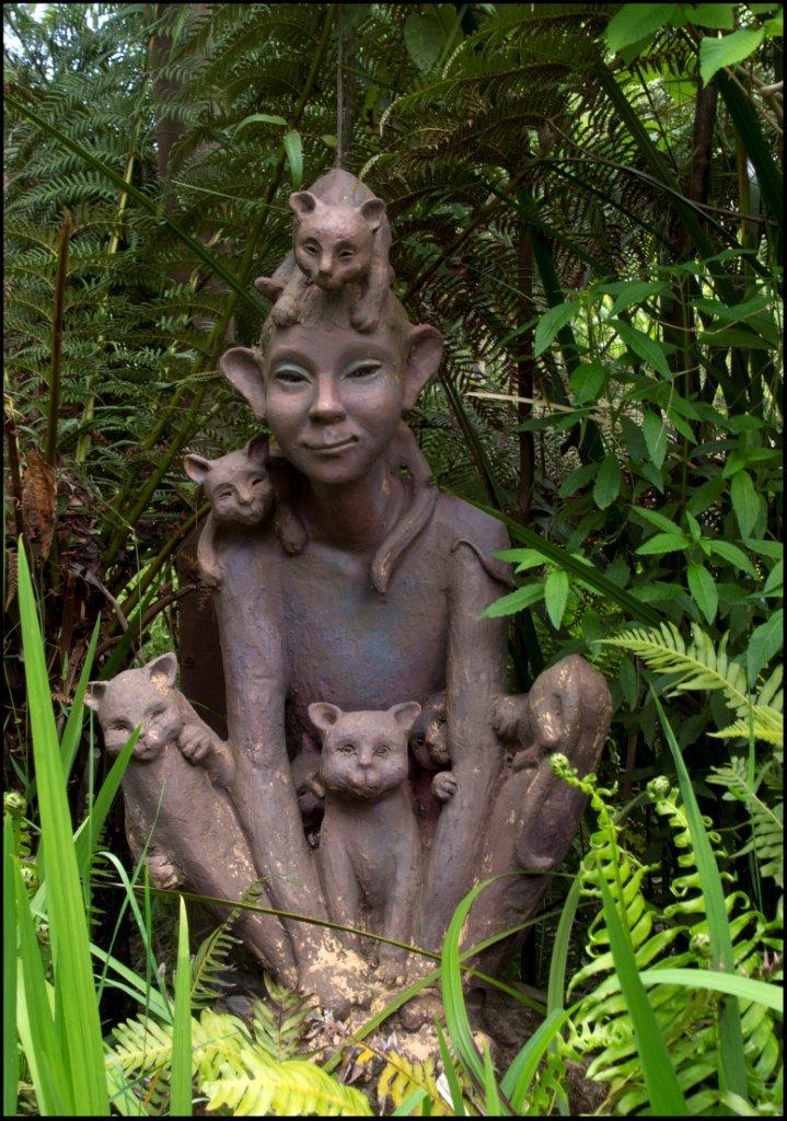 Bruno's Sculpture Garden - Cat Mad