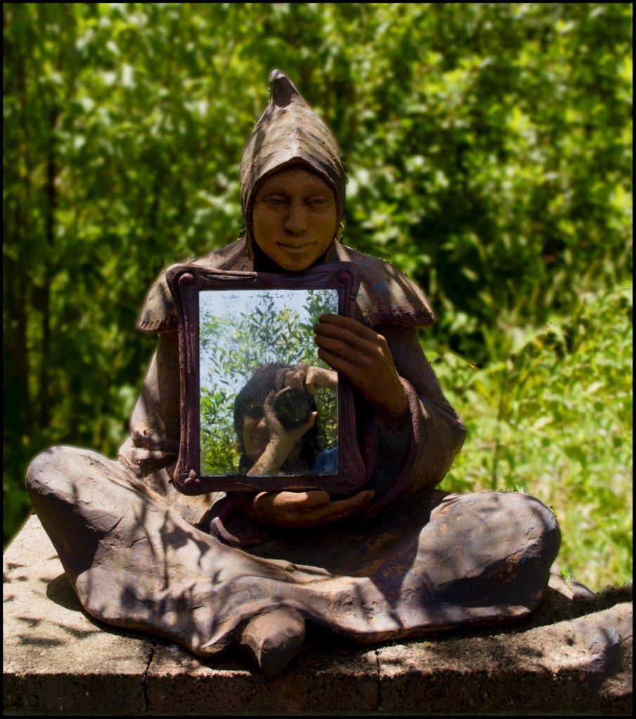 Bruno's Sculpture Garden - Mirror Image