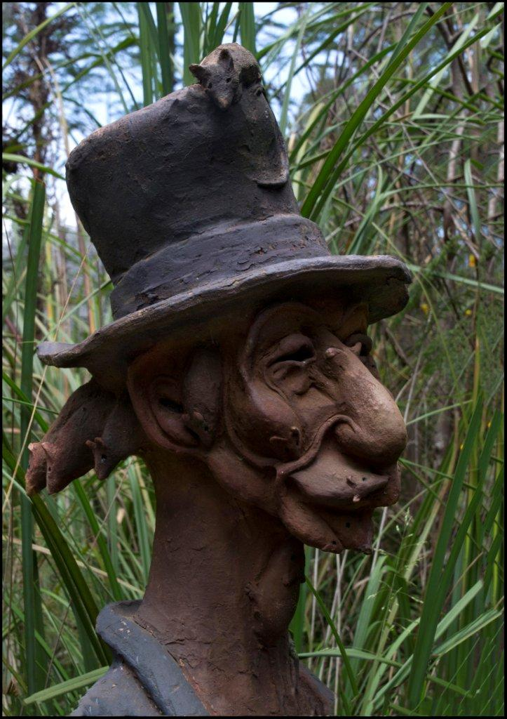 Bruno's Sculpture Garden - Mouse Man