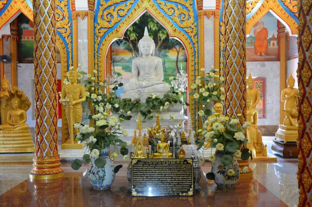 One of the rooms at Wat Chalong