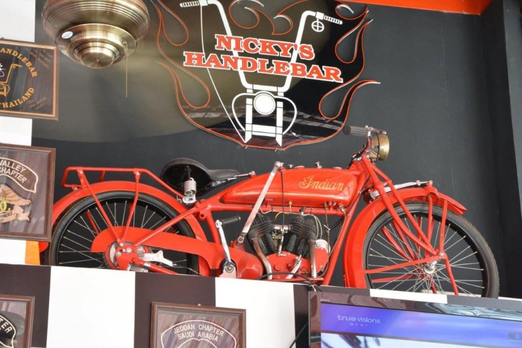 Old Indian Motorbike