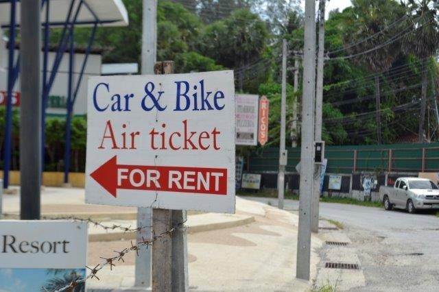 You can Rent Air Tickets???