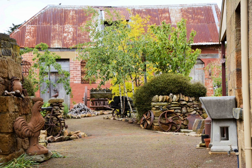 Old Garden in High Street, Oatlands Tasmania