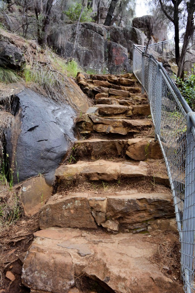 Steep Climb, Cataract Gorge, Launceston