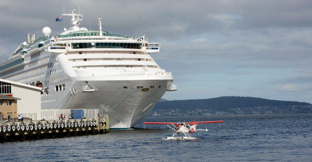 Dawn Princess in Hobart