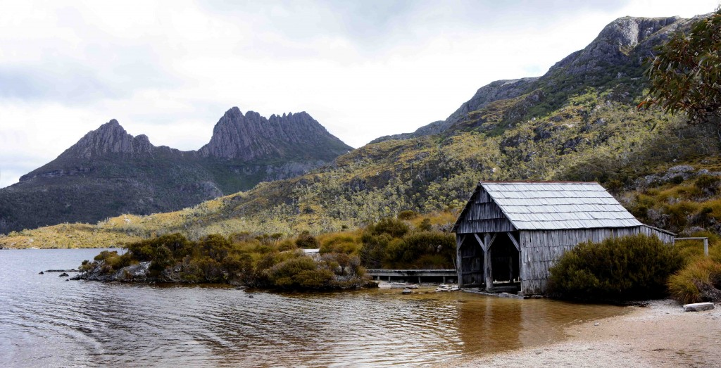 Cradle Mountain's Boatshed, Dove Lake, Tasmania