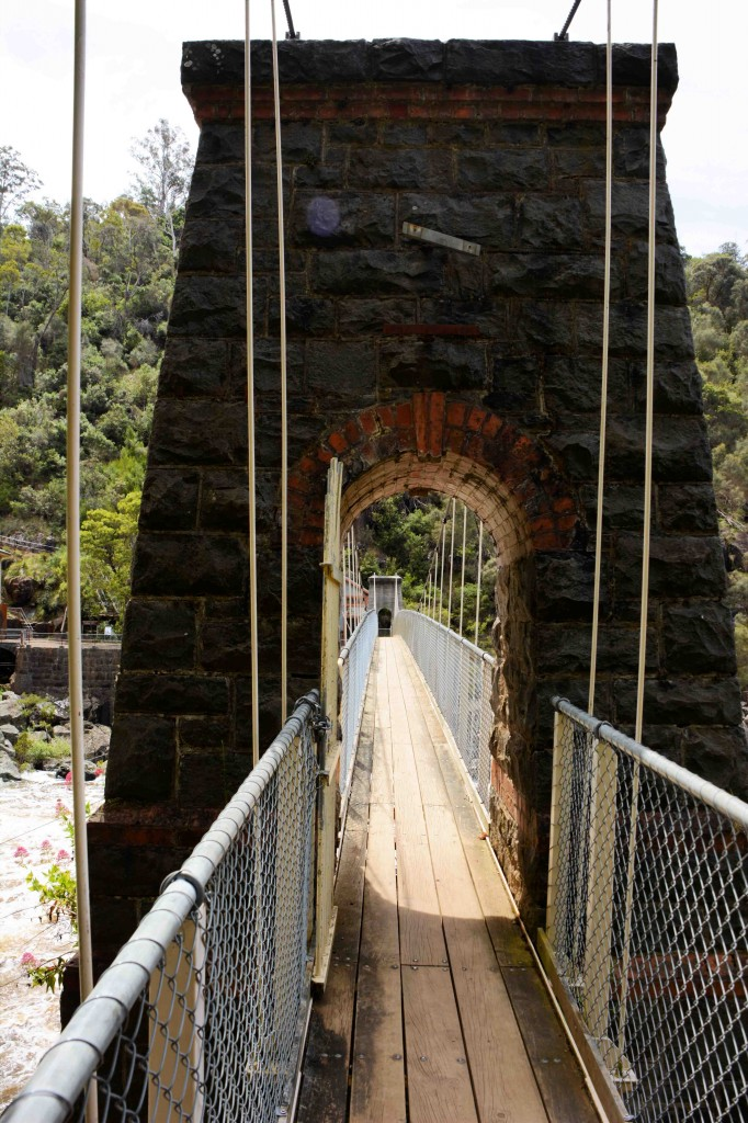 Bridge To Duck Reach Power Station, Cataract Gorge, Launceston, Tasmania