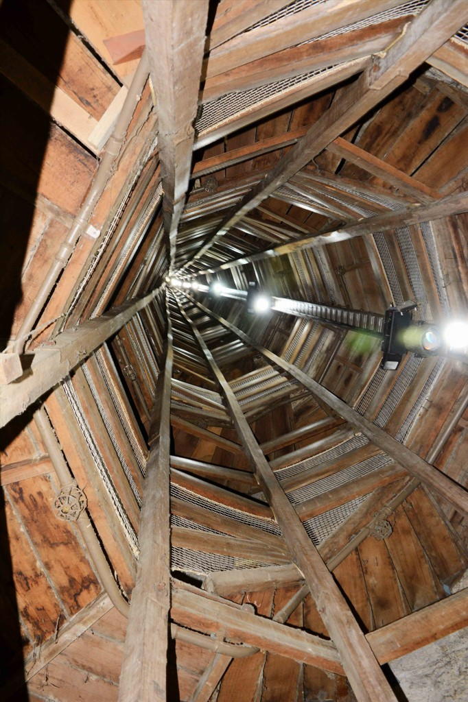 Looking Upwards, Shot Tower, Taroona