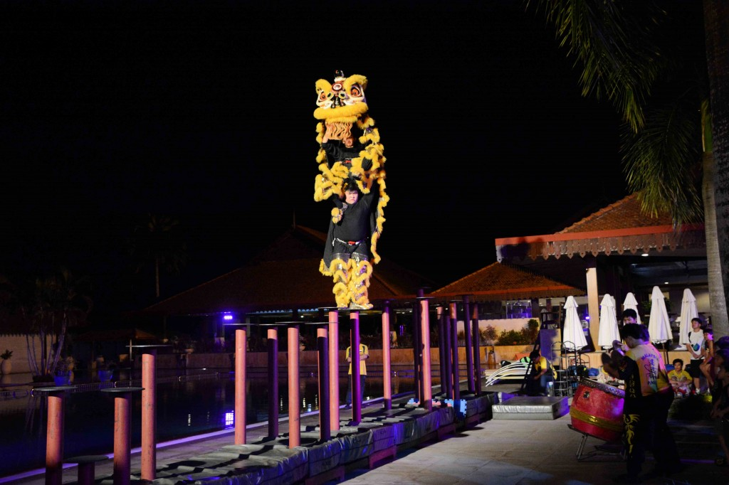Incredible Malay Lion Dancers