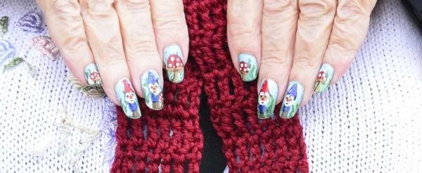 Gnome Manicure