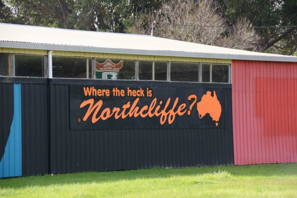 Where the heck is Northcliffe?