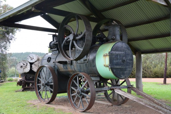 Steam Engine, Lions Park, Nannup